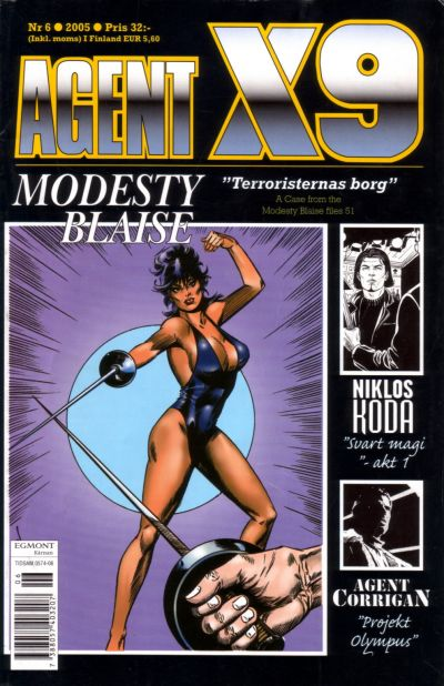 Cover for Agent X9 (Egmont, 1997 series) #6/2005