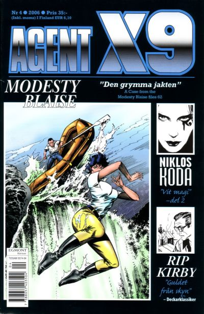 Cover for Agent X9 (Egmont, 1997 series) #4/2006