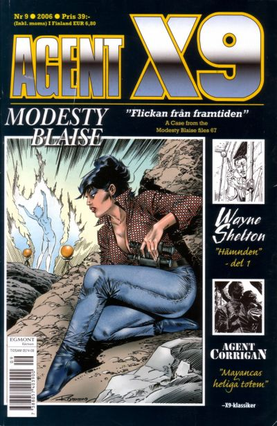 Cover for Agent X9 (Egmont, 1997 series) #9/2006