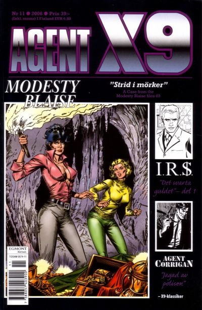 Cover for Agent X9 (Egmont, 1997 series) #11/2006