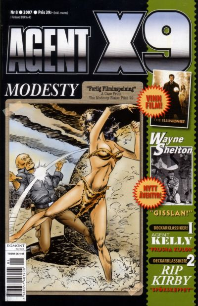 Cover for Agent X9 (Egmont, 1997 series) #8/2007