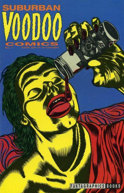 Cover for Suburban Voodoo Comics (Fantagraphics, 1992 series) #1