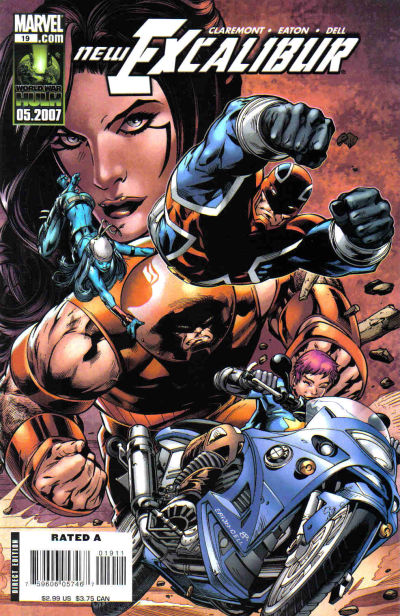Cover for New Excalibur (Marvel, 2006 series) #19 [Direct Edition]