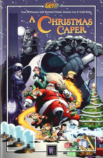 Cover for Gen13: A Christmas Caper (DC, 2000 series)