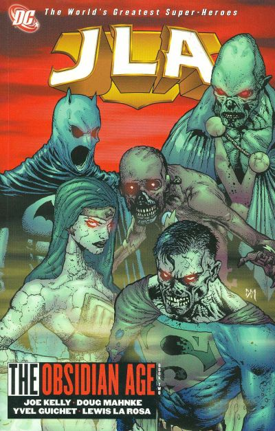 Cover for JLA (DC, 1997 series) #12 - The Obsidian Age, Book 2