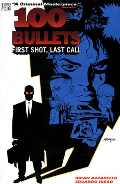 Cover for 100 Bullets (DC, 2000 series) #1 - First Shot, Last Call