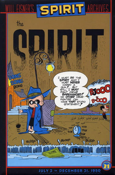Cover for Will Eisner's The Spirit Archives (DC, 2000 series) #21