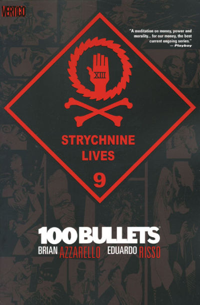 Cover for 100 Bullets (DC, 2000 series) #9 - Strychnine Lives