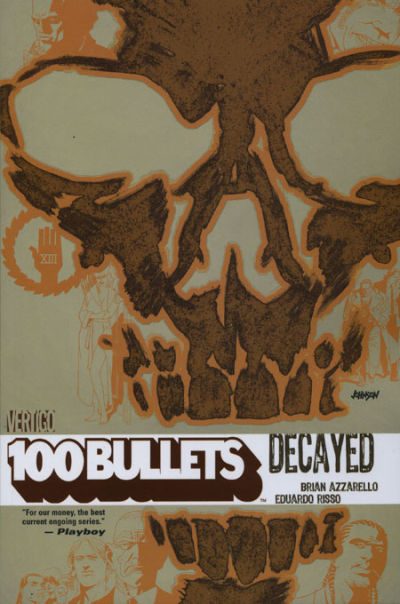 Cover for 100 Bullets (DC, 2000 series) #10 - Decayed