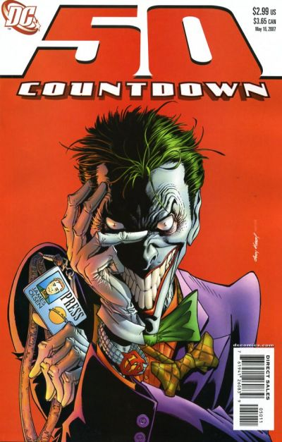 Cover for Countdown (DC, 2007 series) #50