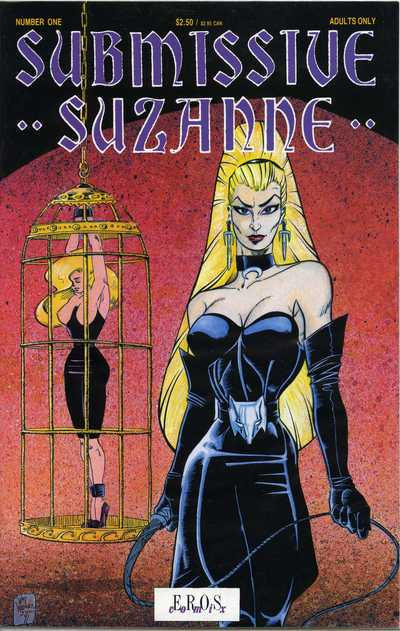 Cover for Submissive Suzanne (Fantagraphics, 1991 series) #1