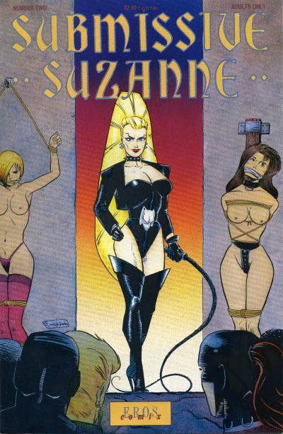 Cover for Submissive Suzanne (Fantagraphics, 1991 series) #2