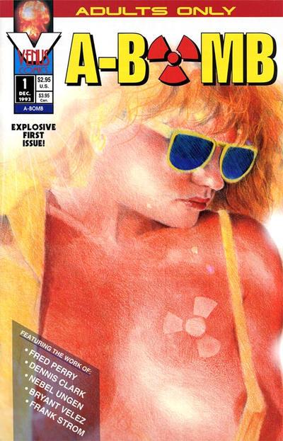 Cover for A-Bomb (Antarctic Press, 1994 series) #1