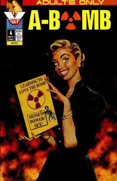Cover for A-Bomb (Antarctic Press, 1994 series) #4