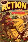 Cover for Top Adventure [Top Action Western] (Export Publishing, 1950 series) #1