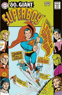Cover Thumbnail for Superboy #147 May-June 1968 Replica Edition (DC, 2003 series)