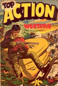 Cover Thumbnail for Top Adventure [Top Action Western] (Export Publishing, 1950 series) #1