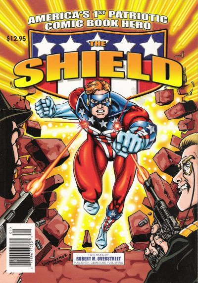 Cover for America's 1st Patriotic Comic Book Hero, The Shield (Archie, 2002 series) #1