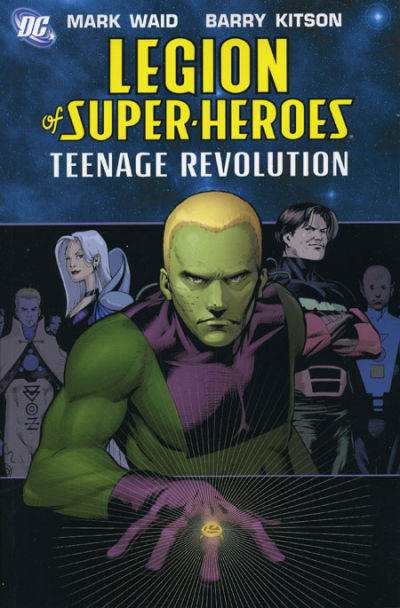 Cover for Legion of Super-Heroes (DC, 2005 series) #1 - Teenage Revolution