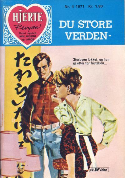 Cover for Hjerterevyen (Serieforlaget / Se-Bladene / Stabenfeldt, 1960 series) #4/1971