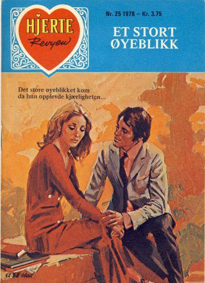 Cover for Hjerterevyen (Serieforlaget / Se-Bladene / Stabenfeldt, 1960 series) #25/1978