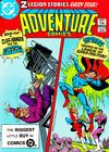 Cover for Adventure Comics (DC, 1938 series) #495 [Direct Sales]