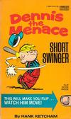 Cover for Dennis the Menace - Short Swinger (Gold Medal Books, 1976 series) #13641
