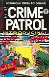 Cover for Crime Patrol (Gemstone, 2000 series) #1