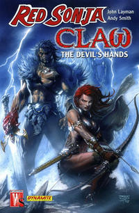 Cover Thumbnail for Red Sonja / Claw: The Devil's Hands (DC, 2007 series)