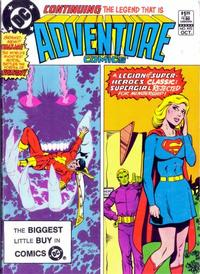 Cover Thumbnail for Adventure Comics (DC, 1938 series) #492 [Direct Sales]