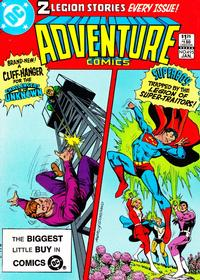 Cover Thumbnail for Adventure Comics (DC, 1938 series) #495 [Direct Sales]