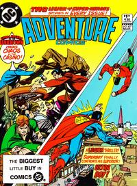 Cover Thumbnail for Adventure Comics (DC, 1938 series) #497 [Direct-Sales]