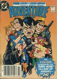 Cover Thumbnail for Adventure Comics (DC, 1938 series) #501 [Newsstand]