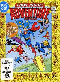 Cover Thumbnail for Adventure Comics (DC, 1938 series) #503 [Direct-Sales]