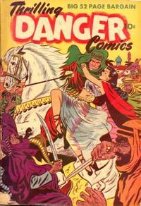 Cover Thumbnail for Thrilling Danger Comics (Export Publishing, 1951 series)