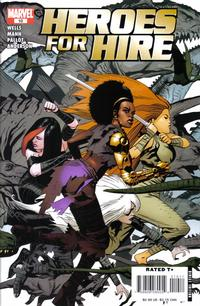 Cover Thumbnail for Heroes for Hire (Marvel, 2006 series) #10