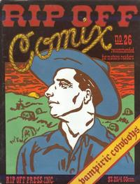 Cover Thumbnail for Rip Off Comix (Rip Off Press, 1977 series) #26