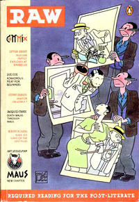 Cover Thumbnail for Raw (Penguin, 1989 series) #2 - Required Reading for the Post-Literate