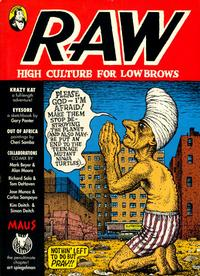 Cover Thumbnail for Raw (Penguin, 1989 series) #3 - High Culture for Lowbrows