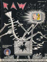 Cover Thumbnail for Raw (Raw Books, 1980 series) #4