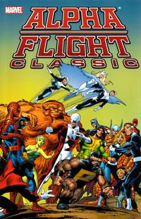 Cover Thumbnail for Alpha Flight Classic (Marvel, 2007 series) #1