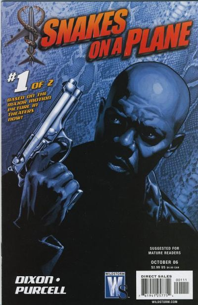 Cover for Snakes on a Plane (DC, 2006 series) #1