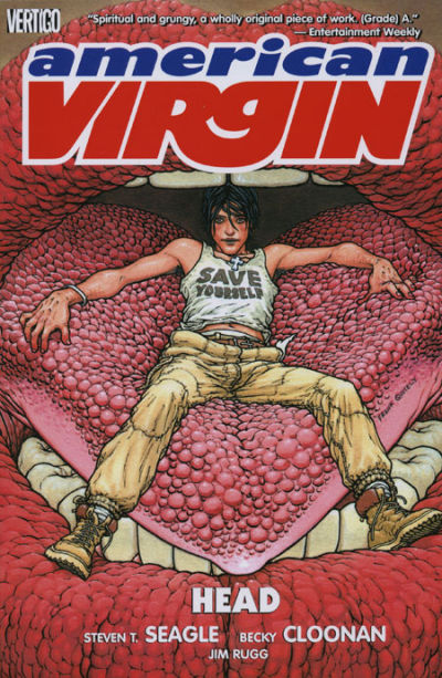 Cover for American Virgin (DC, 2006 series) #1 - Head