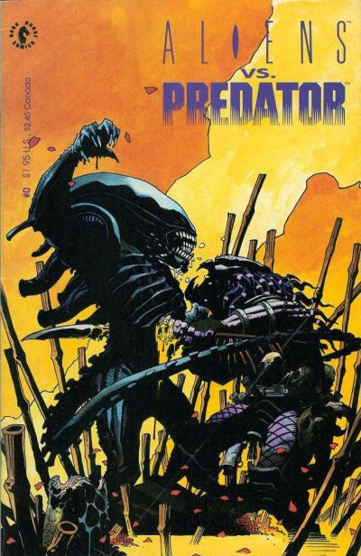 Cover for Aliens vs. Predator (Dark Horse, 1990 series) #0