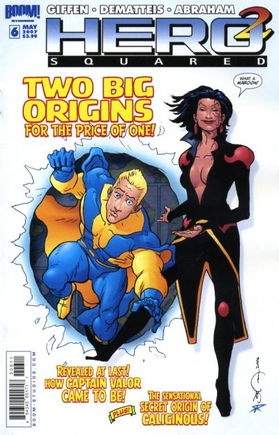 Cover for Hero Squared (Boom! Studios, 2006 series) #6