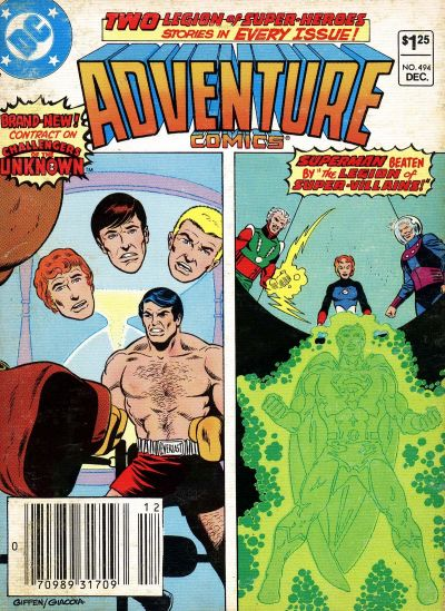 Cover for Adventure Comics (DC, 1938 series) #494 [Newsstand]