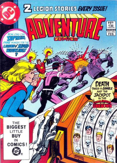 Cover for Adventure Comics (DC, 1938 series) #496 [Direct-Sales Variant]
