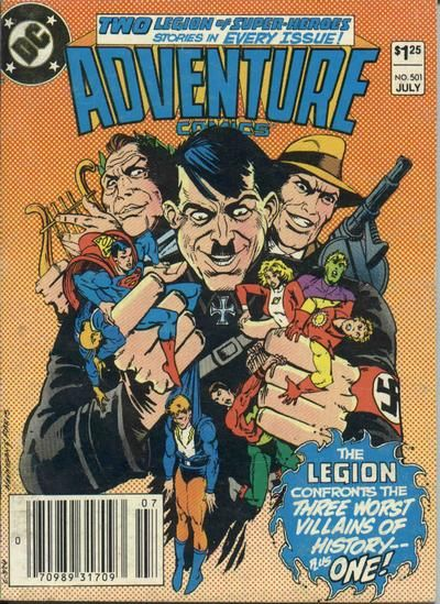 Cover for Adventure Comics (DC, 1938 series) #501 [Newsstand]