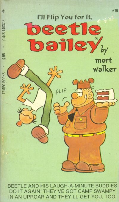 Cover for I'll Flip You for It, Beetle Bailey (Tempo Books, 1977 series) #14037