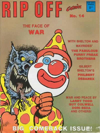 Cover for Rip Off Comix (Rip Off Press, 1977 series) #14